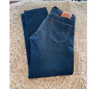 Levi's 505 Regular Fit Jeans Size 33x32